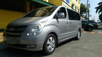 Sell Silver 2011 Hyundai Grand Starex