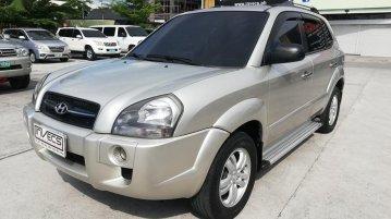 Brightsilver Hyundai Tucson 2008 for sale in San Fernando