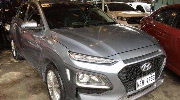 Selling Silver Hyundai KONA 2019 in Lapu Lapu