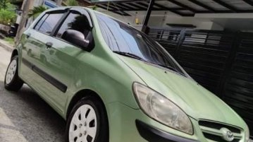 Selling Green Hyundai Getz 2007 in Quezon