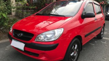 Red Hyundai Getz 2011 for sale in Caloocan