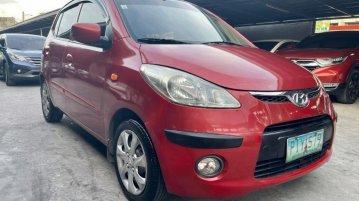 Selling Red Hyundai I10 2010 in Las Piñas