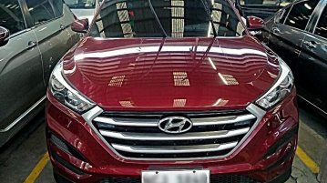Red Hyundai Tucson 2016 for sale in Automatic
