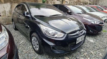 Black Hyundai Accent 2018 for sale in Quezon
