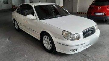 White Hyundai Sonata 2004 for sale in San Juan