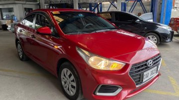 Red Hyundai Accent 2019 for sale in San Fernando