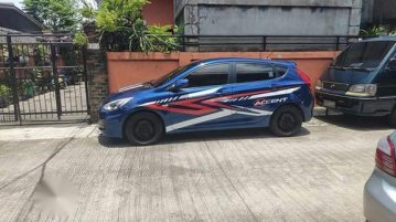 Blue Hyundai Accent 2017 for sale in Antipolo