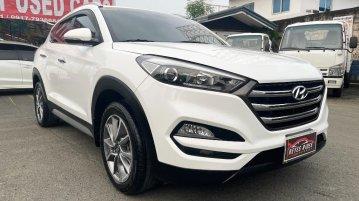 Selling White Hyundai Tucson 2018 in Cainta