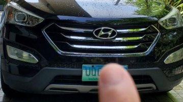 Selling Black Hyundai Santa Fe 2013 in San Juan