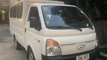 White Hyundai H-100 2012 for sale in Manual