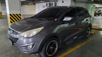 Grey Hyundai Tucson 2013 for sale in Automatic