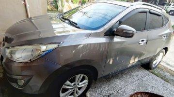 Grey Hyundai Tucson 2012 for sale in Manila