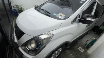 White 2013 Hyundai Grand Starex for sale in Parañaque