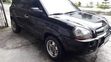 Black Hyundai Tucson 2009 for sale in Automatic