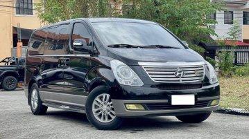 Selling Black Hyundai Starex 2015 in Makati