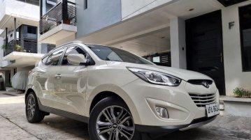 Sell White 2015 Hyundai Tucson in Quezon City