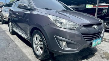 Grey Hyundai Tucson 2012 for sale in Automatic