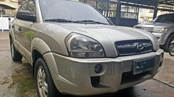 Selling Silver Hyundai Tucson 2009 in Quezon City