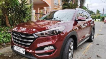 Red Hyundai Tucson 2018 for sale in Las Piñas