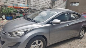 Silver Hyundai Elantra 2014 for sale in Pateros