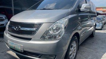 Silver Hyundai Starex 2011 for sale in Automatic