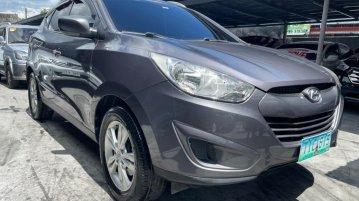 Grey Hyundai Tucson 2012 for sale in Las Piñas