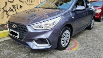 Selling Grey Hyundai Accent 2020 in Quezon City