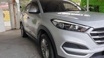 Silver Hyundai Tucson 2018 for sale in Las Piñas