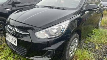 Black Hyundai Accent 2019 for sale in Automatic
