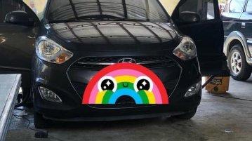 Sell Grey 2012 Hyundai I10 in Silang