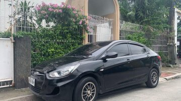 Black Hyundai Accent 2014 for sale in Automatic