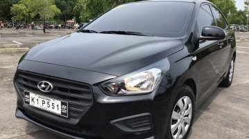 Black Hyundai Reina 2020 for sale in Automatic