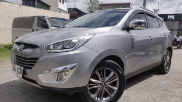 Sell Silver 2015 Hyundai Tucson in Pasig