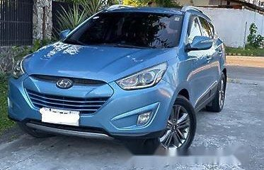 Sell Blue 2014 Hyundai Tucson at 100000 km