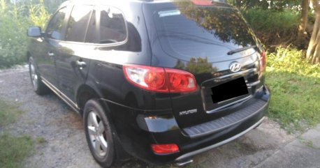 Selling Black Hyundai Santa Fe in Manila