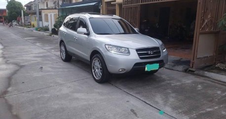 Silver Hyundai Santa Fe for sale in Imus
