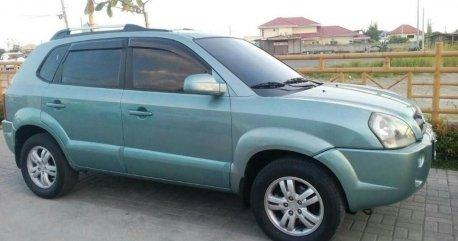 Sell Green 2007 Hyundai Tucson in Cavite