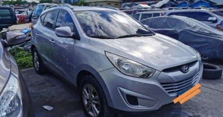 Silver Hyundai Tucson for sale in Manila