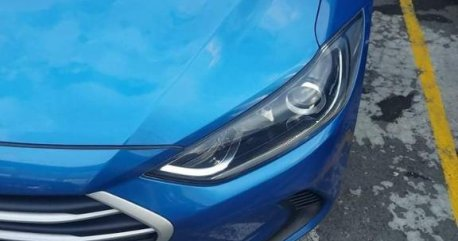 Blue Hyundai Elantra 2018 for sale in General Trias