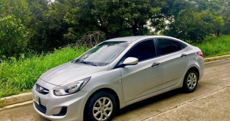 Sell Silver 2014 Hyundai Accent in Antipolo City