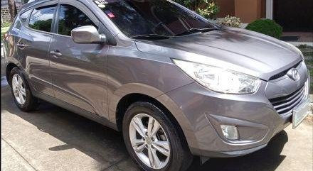 Silver Hyundai Tucson 2012 for sale in Santa Rosa
