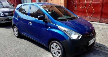 Selling Blue Hyundai Eon 2016 in Pasig