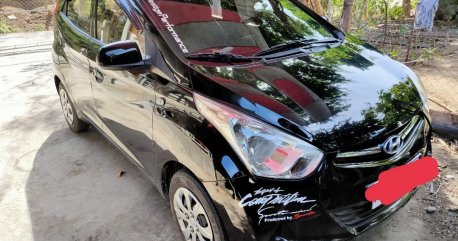 Selling Black Hyundai Eon 2018 in Sudipen