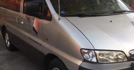 Silver Hyundai Starex 2002 for sale in Quezon