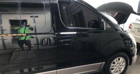 Selling Black Hyundai Grand Starex 2018 in Muntinlupa