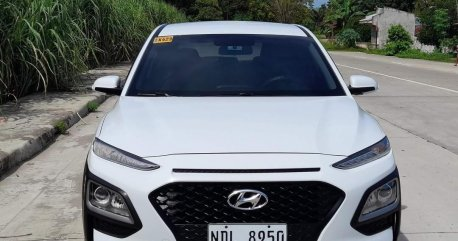White Hyundai KONA 2019 for sale in Dumaguete