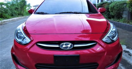 Red Hyundai Accent 2016 for sale in Pasig