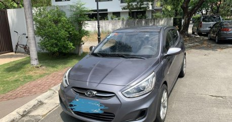 Silver Hyundai Accent 2016 for sale in Pasay
