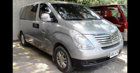 Silver Hyundai Grand Starex 2015 for sale in Cebu