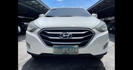 Selling White Hyundai Tucson 2013 in Las Piñas